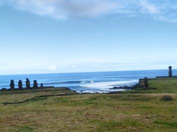 Moai sentinels