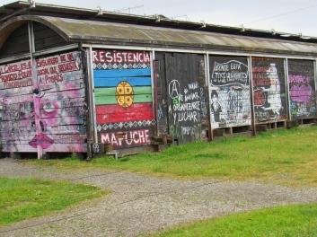 Graffiti in Puerto Montt