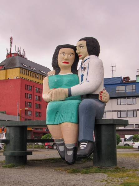 Sculpture, Puerto Montt