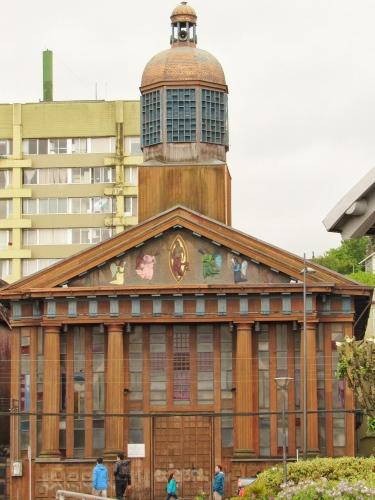 Puerto Montt church