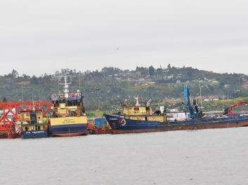 Puerto Montt harbour