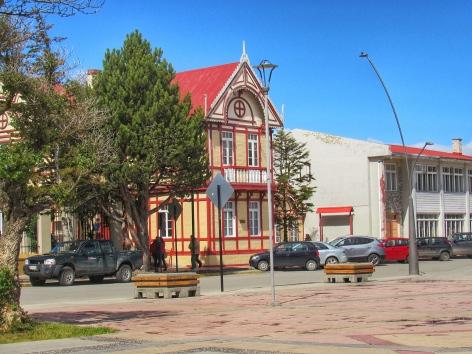 Puerto Natales, old building