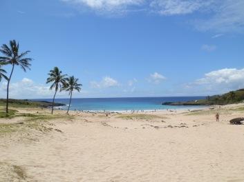 Rapa Nui beach