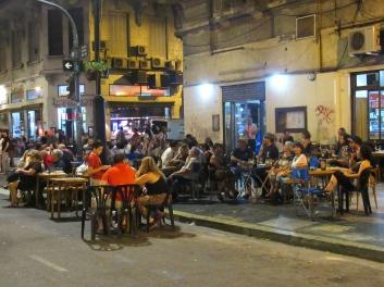 Street cafe, San Telmo