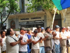 Protesters Buenos Aires