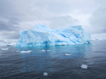 Another blue iceberg