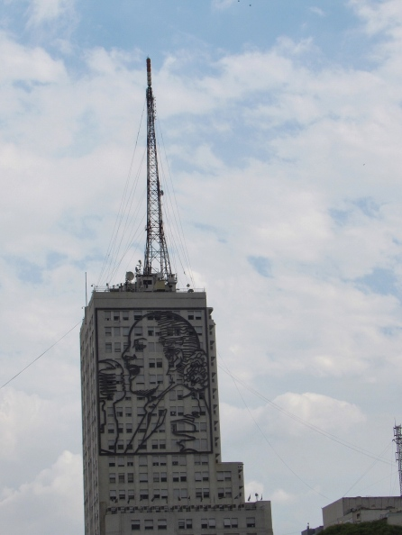 Eva Peron tower