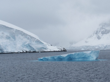 Contrasting ice colours