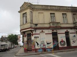 Montevideo port area