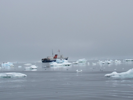 The 'Ushuaia' in ice