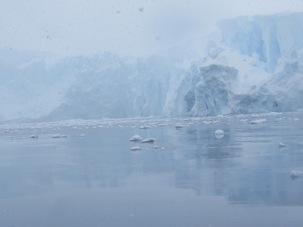 Fog in Antarctica