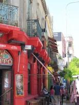Street in La Boca