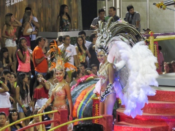 Carnaval float - Encarnacion