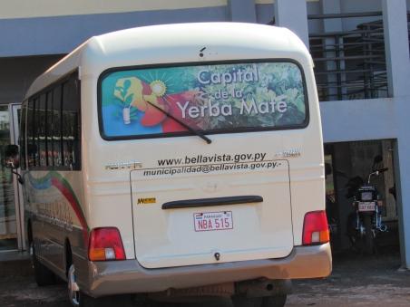 Yerba Mate bus