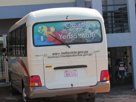 Yerba Mate bus