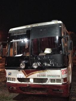 Bus Paraguay-Bolivia