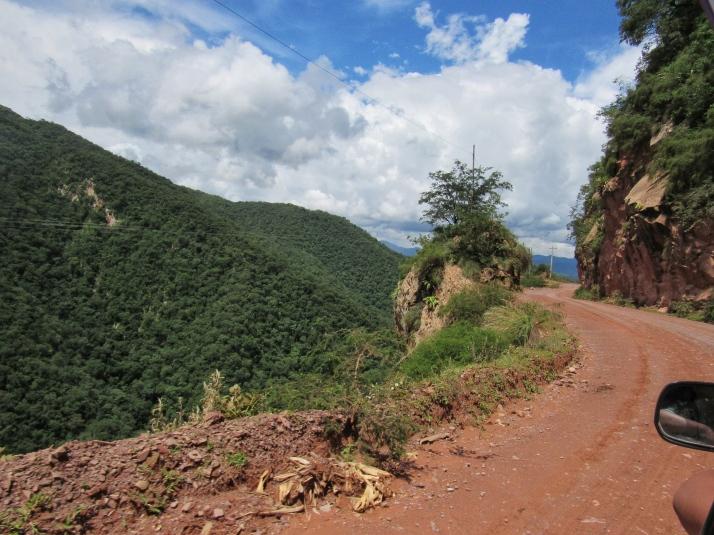 Villamontes-Tarija Road
