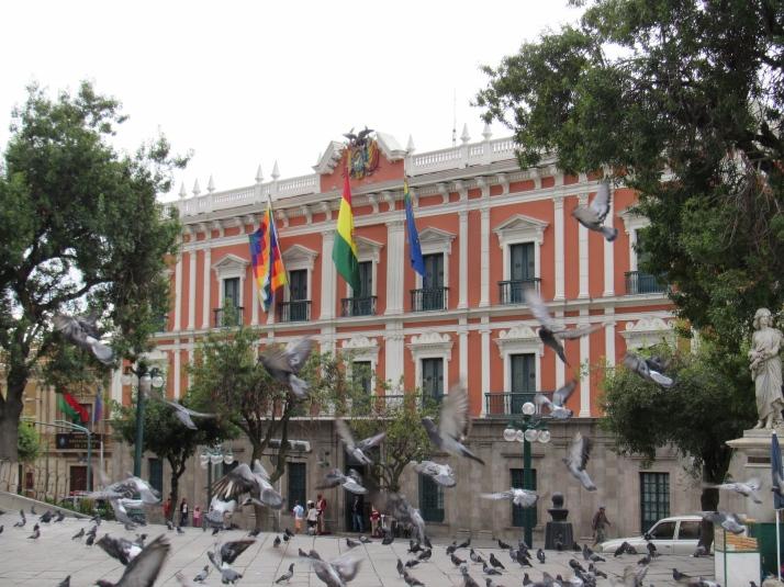 Presidential palace La Paz