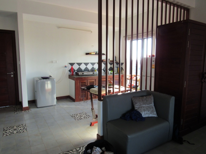 Our apartment in Siem Reap