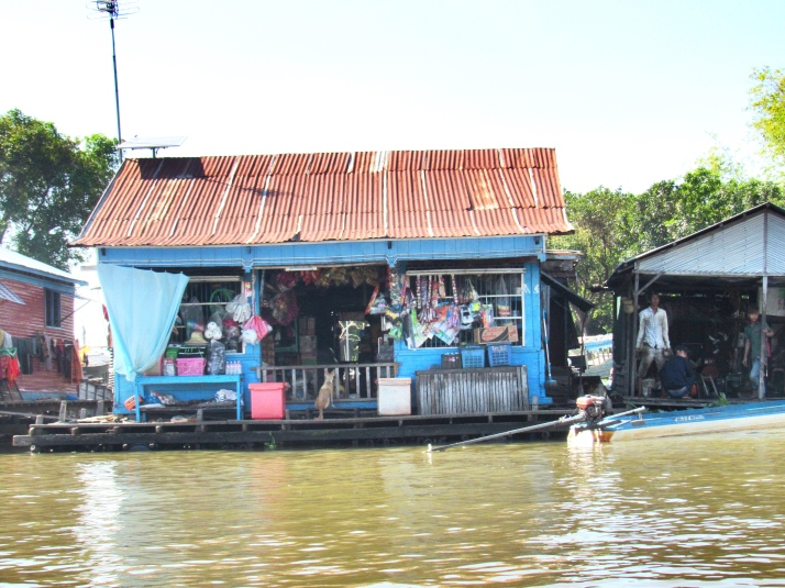 Floating shop