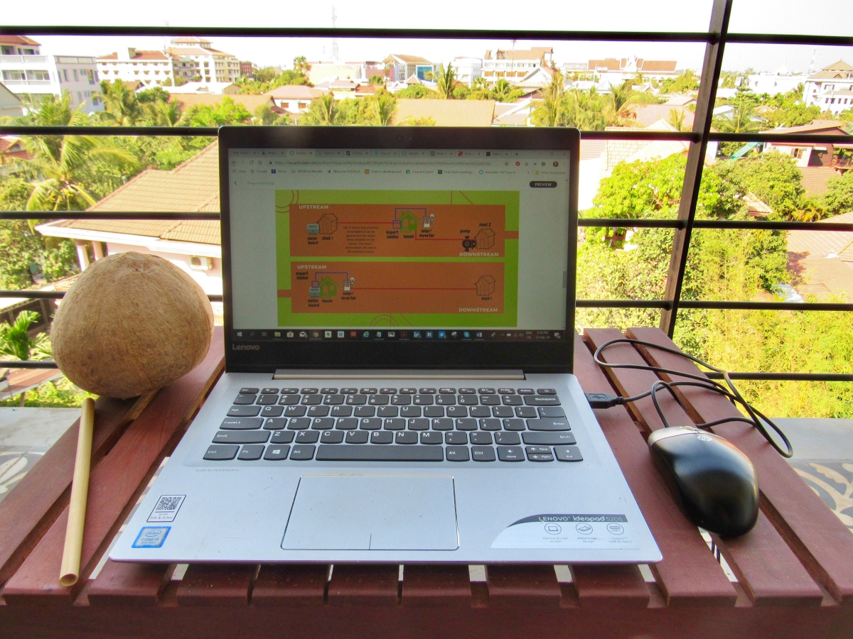 On becoming a digital nomad