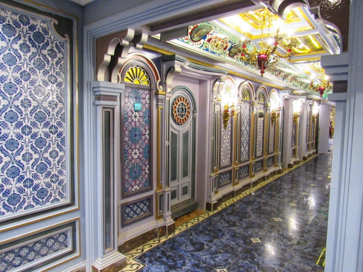 Hallway in the Sultan Hotel