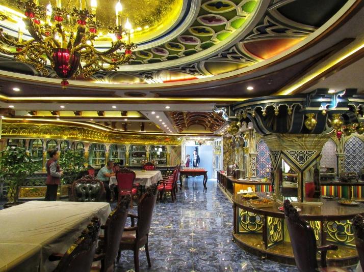 Breakfast room in the Sultan Hotel