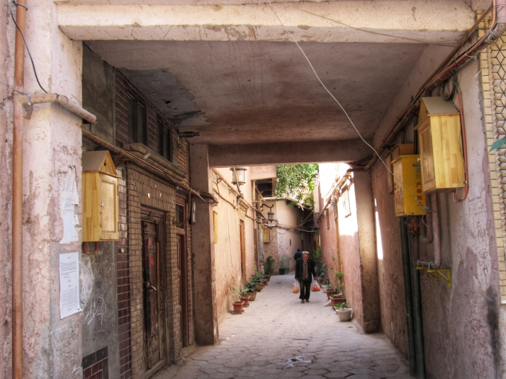 An alley in Kashgar