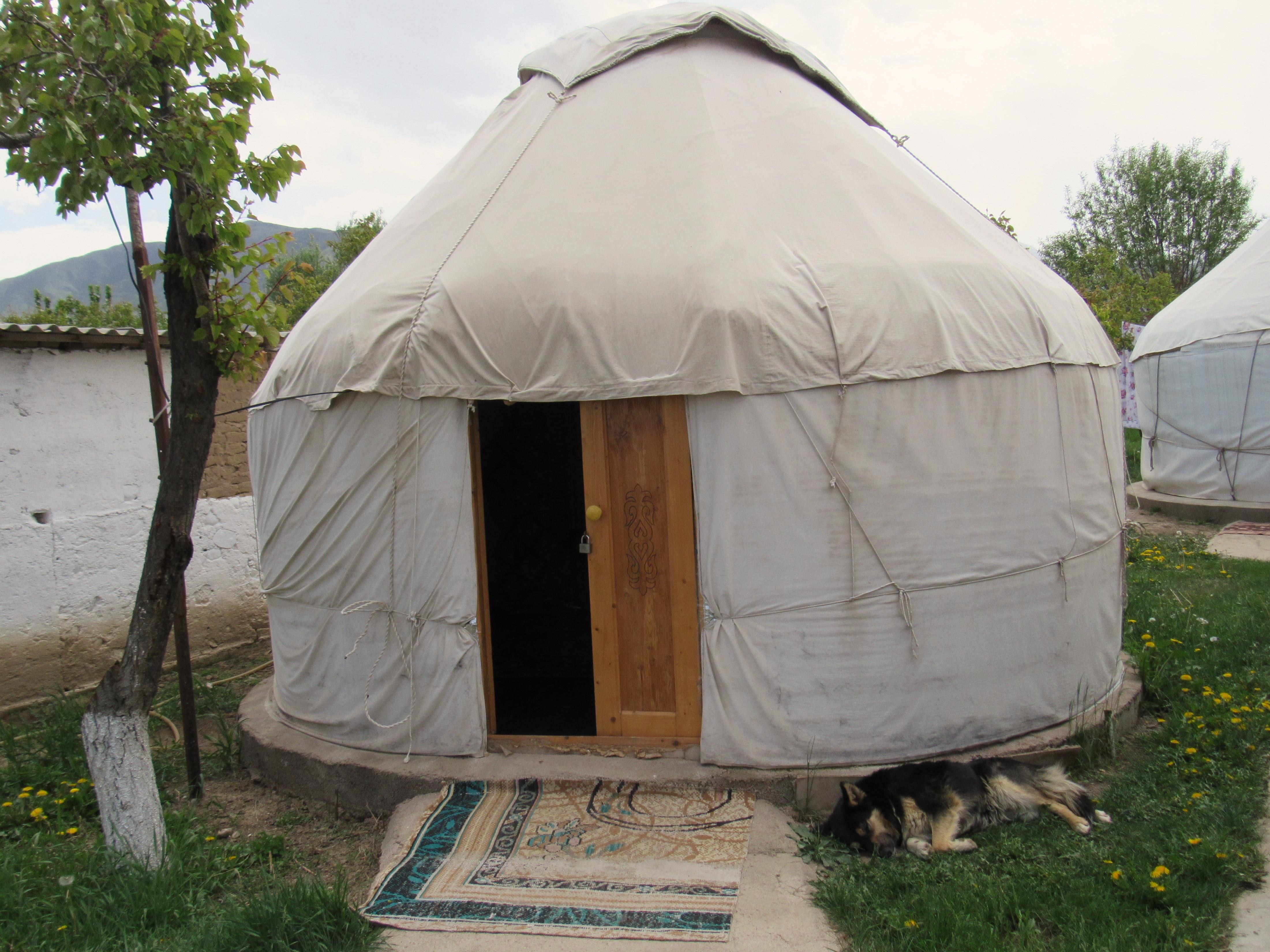 Kyrgyz style yurt