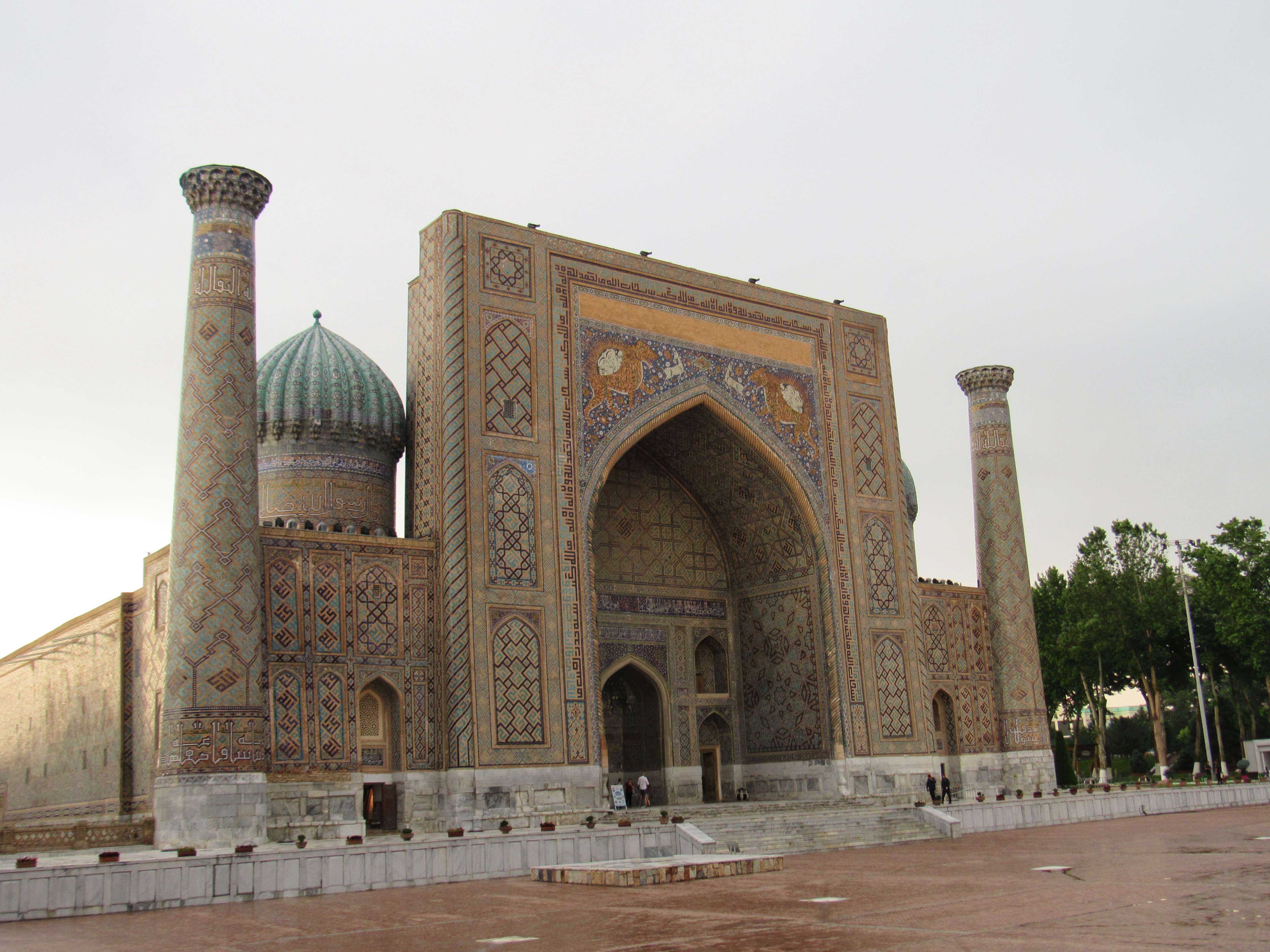 Ulugbek's Madrasa at the Registan
