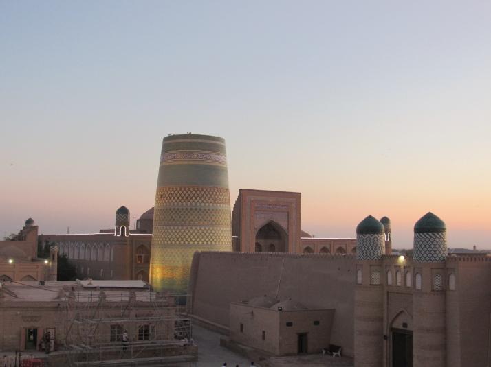 Kalta Minor Minaret at sunset