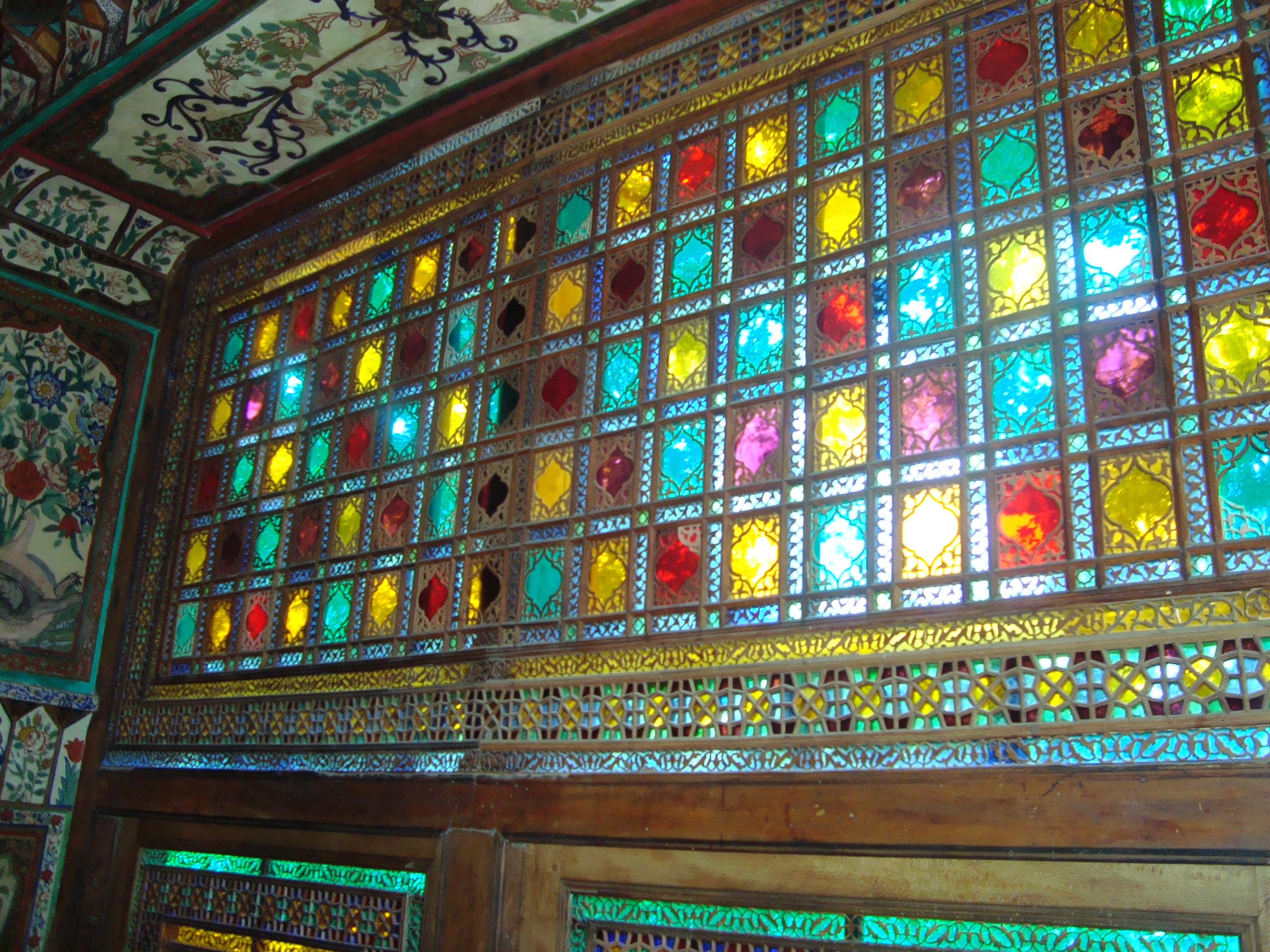 Inside the Sheki Khan's Palace