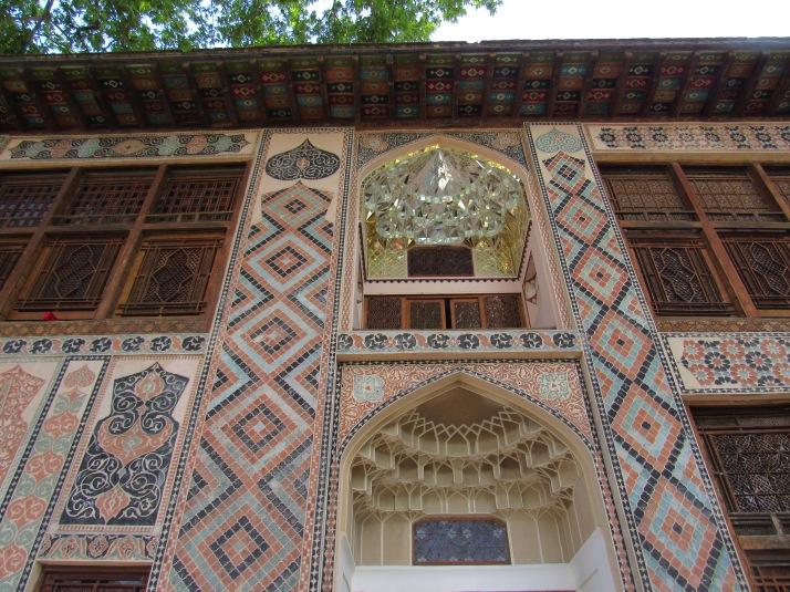 Sheki Khan's Palace exterior