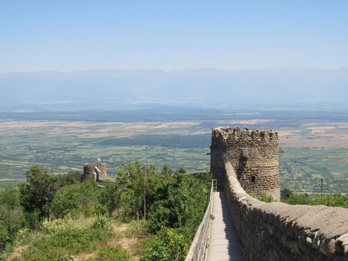 Sighnaghi fortress walls