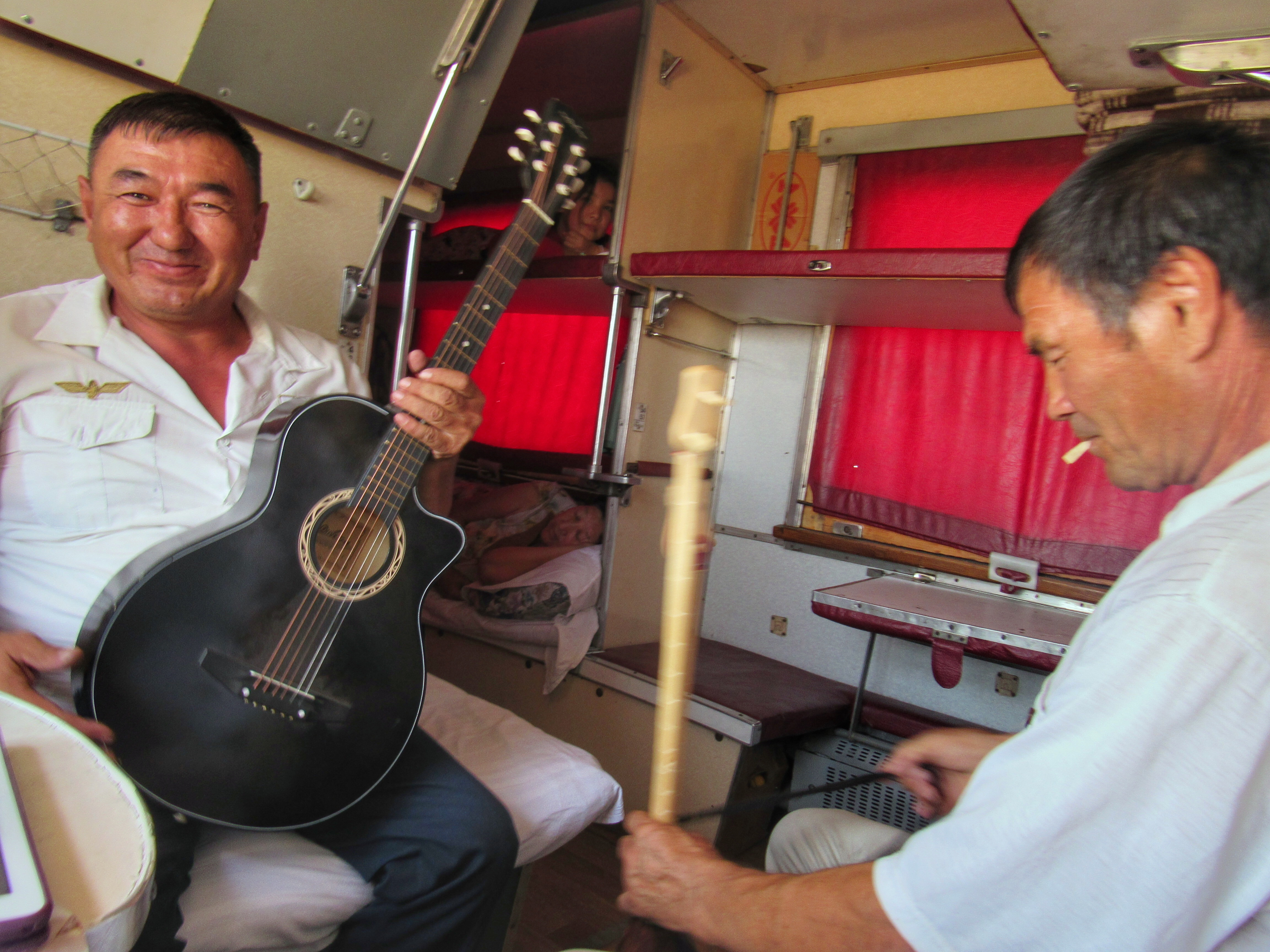 Train conductor and instrument maker