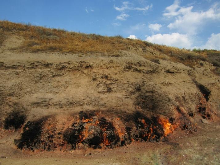 Yanar Dag Fire Mountain
